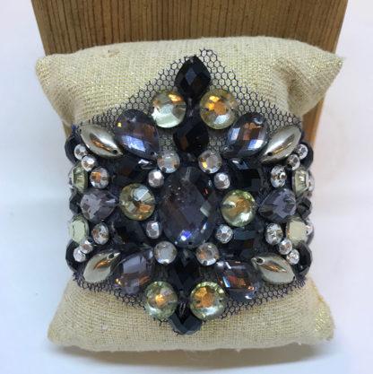 Blue Aura Navy Lace Bracelet