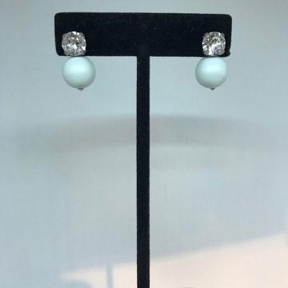 Georgianni blue stud earrings