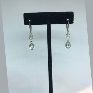 Mariana Clear Crystal Dangle Earrings