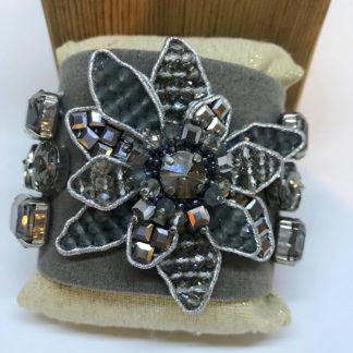 Rush Smoky Crystal Bracelet