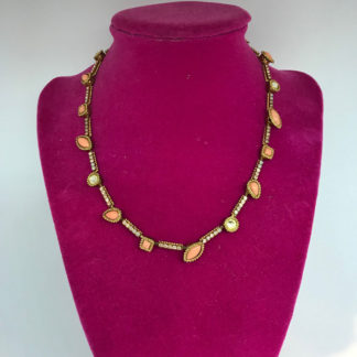 Sorrelli Gold and Coral Necklace