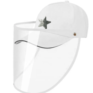 Safety shield ball cap